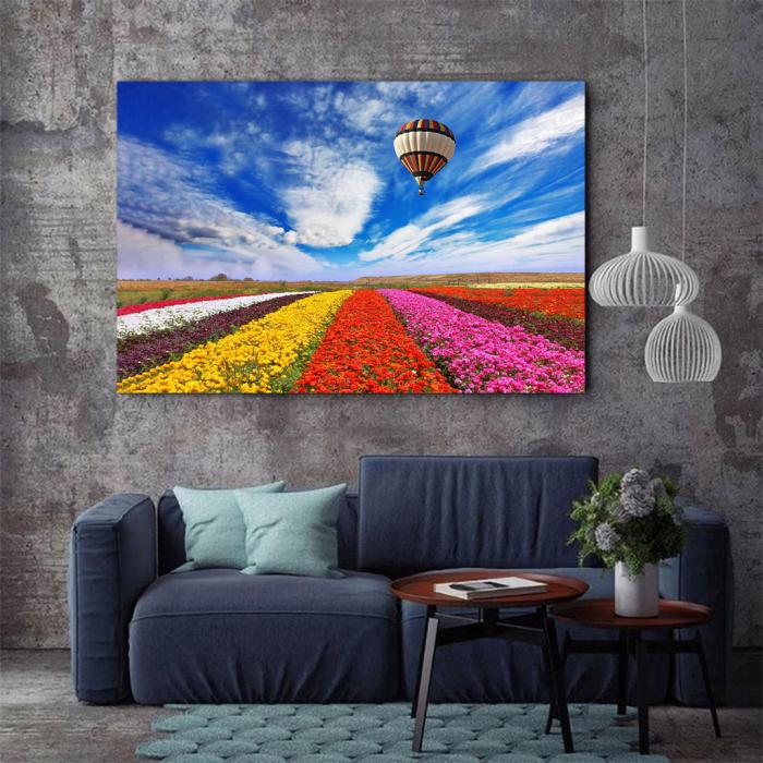 Tablou Canvas - Flowers field [2]