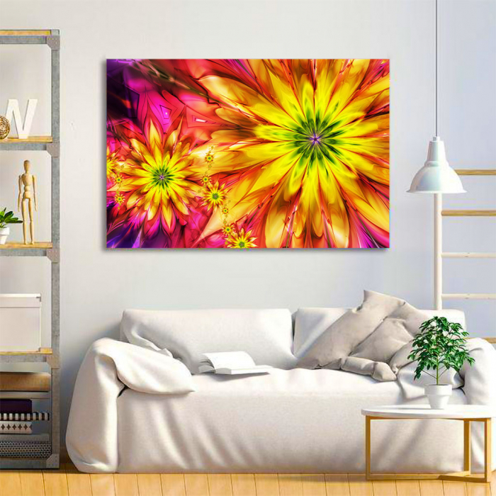 Tablou Canvas - Floral design 1