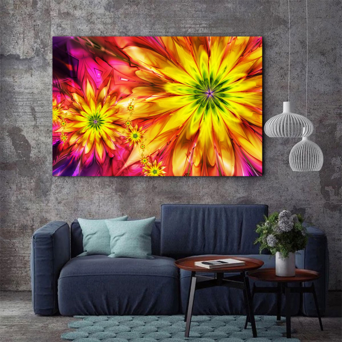 Tablou Canvas - Floral design 2