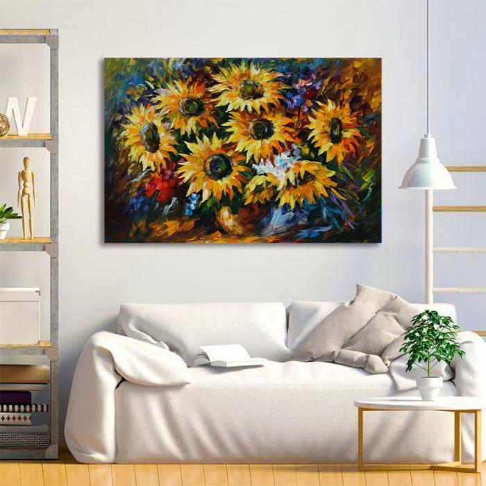 Tablou Canvas - Yelow flowers [1]