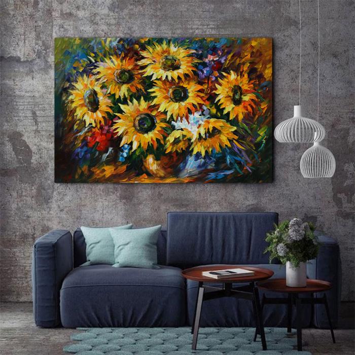 Tablou Canvas - Yelow flowers [2]