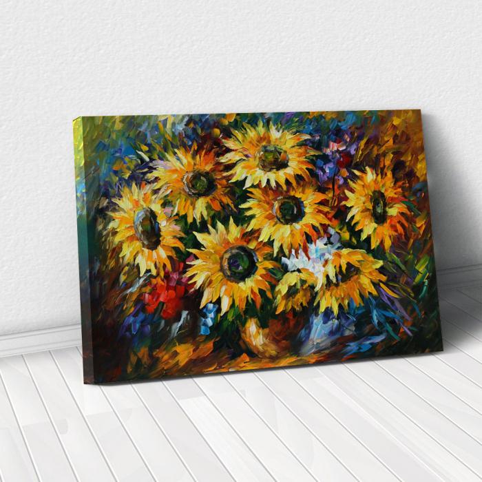 Tablou Canvas - Yelow flowers [0]