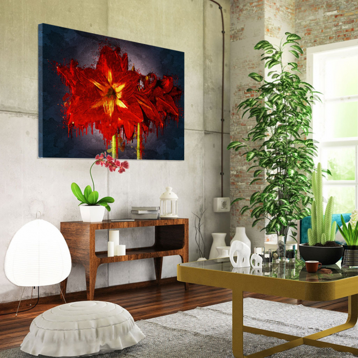 Tablou Canvas - Amaryllis 1