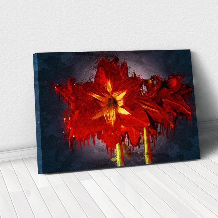 Tablou Canvas - Amaryllis 0