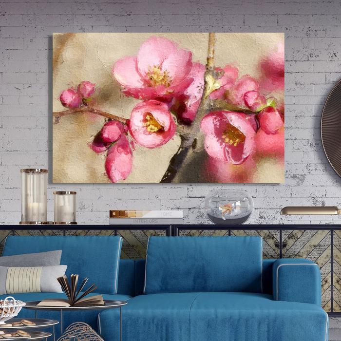 Tablou Canvas - Flori de mar 2