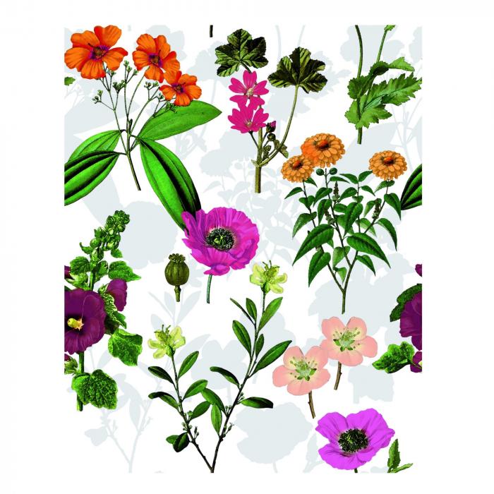 Față de masă, 100 % PVC, flori de câmp, lățime 140 cm [0]