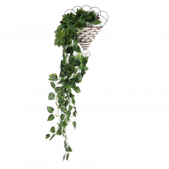 Floare artificială, verde, 85 cm 0