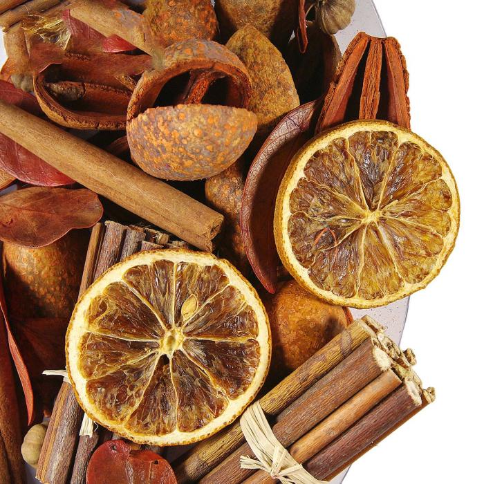 Flori uscate Scortisoara, parfumate decorative Potpourri.140.gr 1