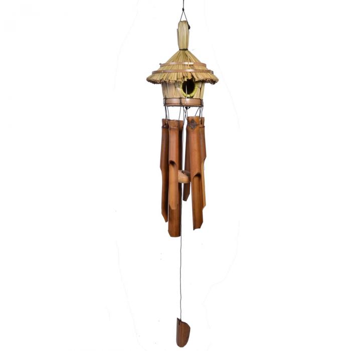 Fluier de vânt,din bambus,47 cm 0