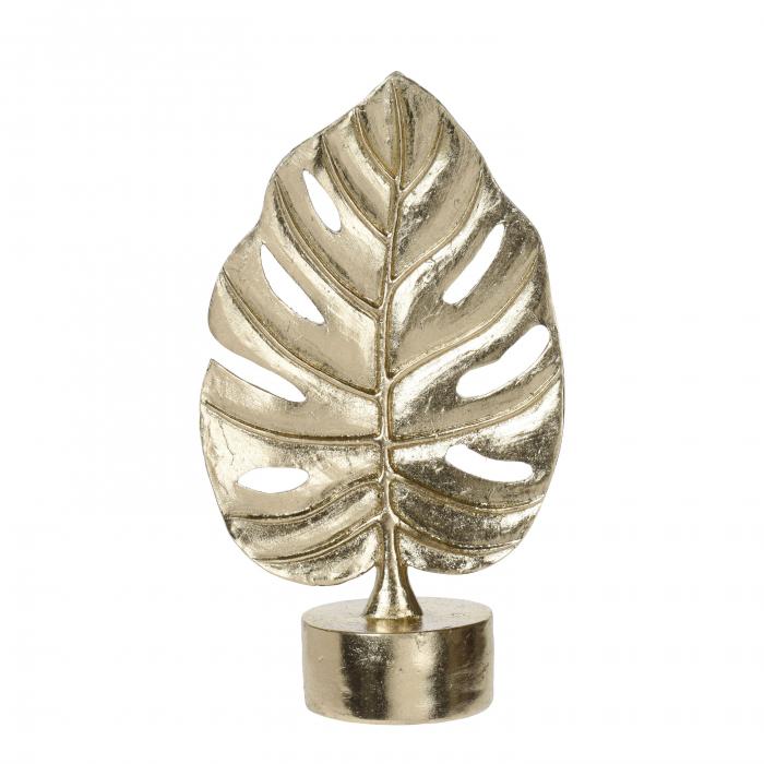 Frunză decorativă, auriu, rasina, 30cm 0