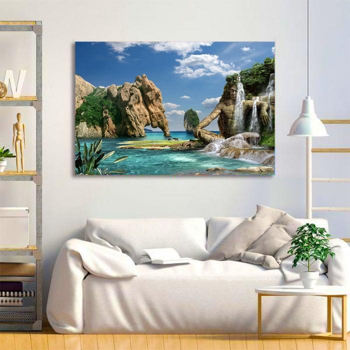 Tablou Canvas - Paradise Island 3