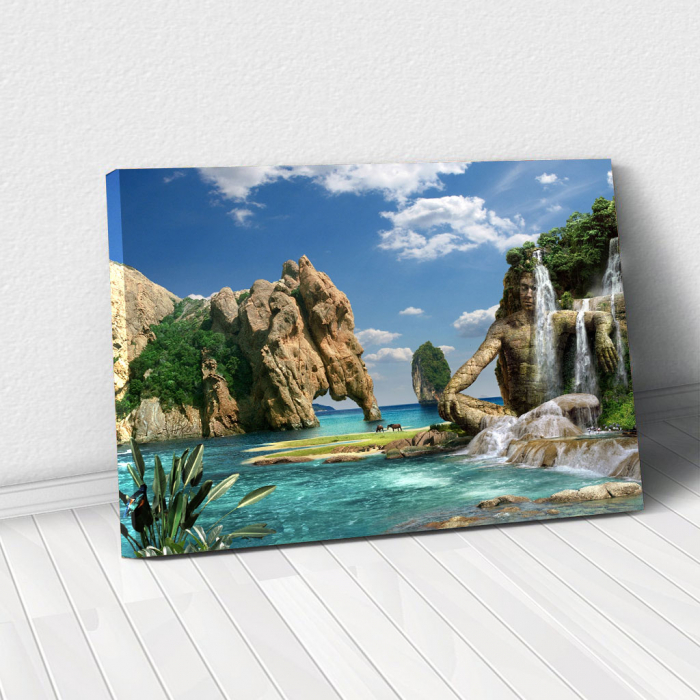 Tablou Canvas - Paradise Island 0