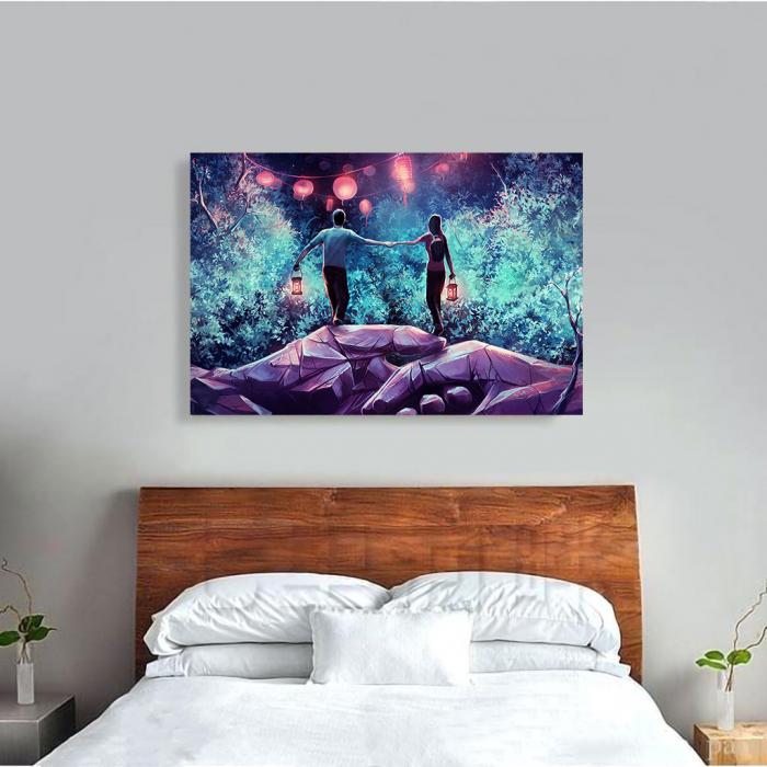 Tablou Canvas - Puterea dragostei 3