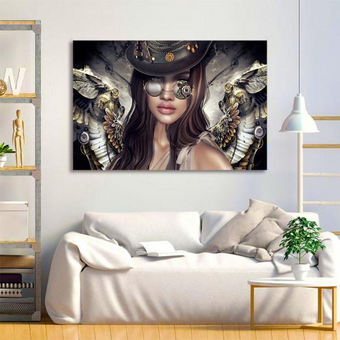 Tablou Canvas - Mechanical angel 1