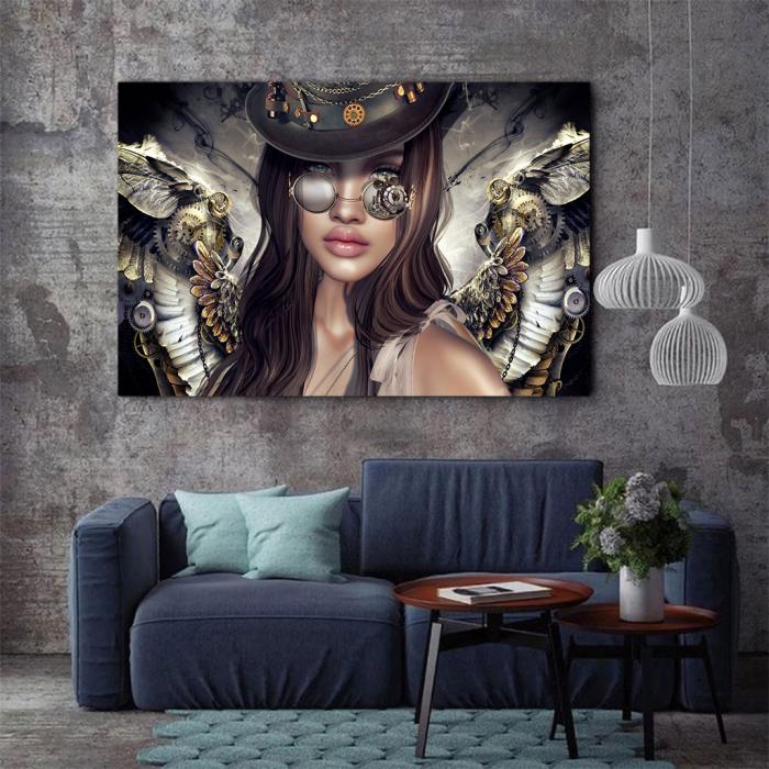 Tablou Canvas - Mechanical angel 2