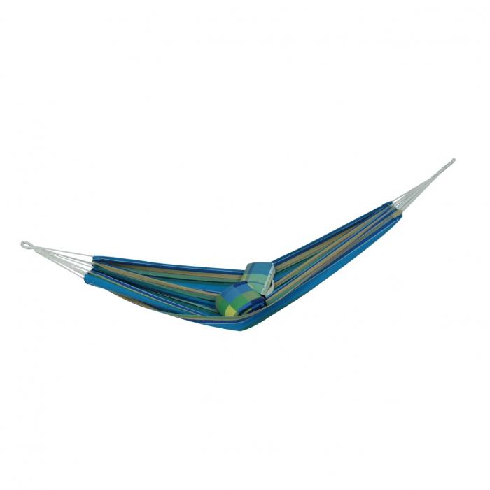 Hamac albastru cu dungi.100 x 200 cm 0