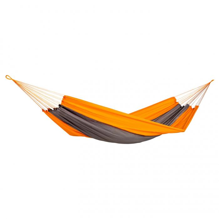Hamac gri-portocaliu.220 x 140 cm 0
