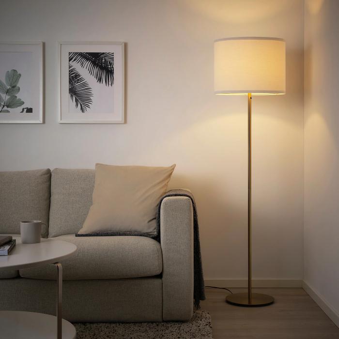 Lampadar Sonya cu abajurul alb - 153cm [1]