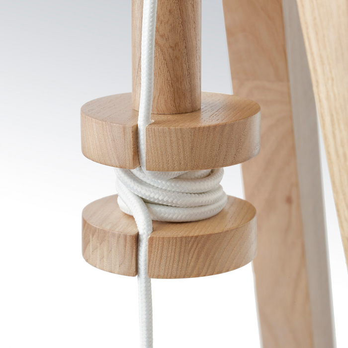 Lampadar Cora din lemn, reglabil - 151cm [3]