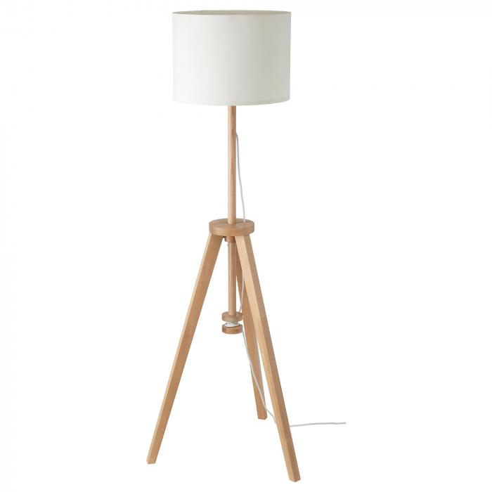 Lampadar Cora din lemn, reglabil - 151cm [0]