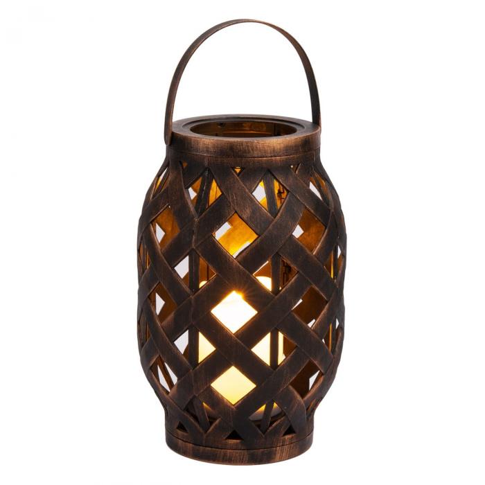 Lampă decorativă,culoarea bronzului,plastic,LED,suspendată 23 cm 0