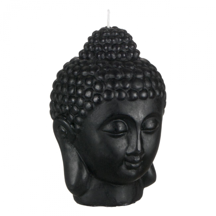 Lumânare decorativă 3D față,Buddha 14x18 cm 1