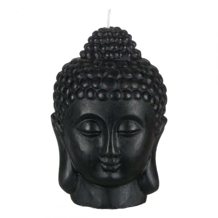 Lumânare decorativă 3D față,Buddha 14x18 cm 0