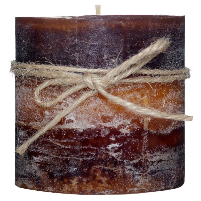 Lumânare aromatică cu cafea cu funie 6.8x7.2 cm 0