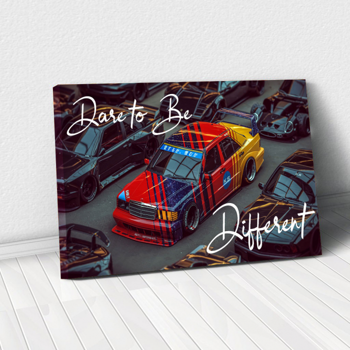 Tablou Canvas - Dare to be different 0