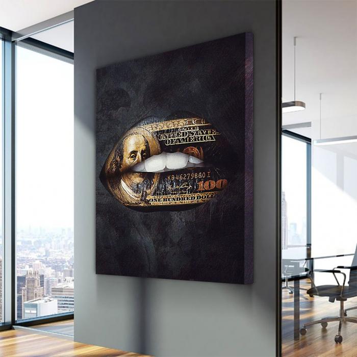 Tablou Canvas - Money talks 2