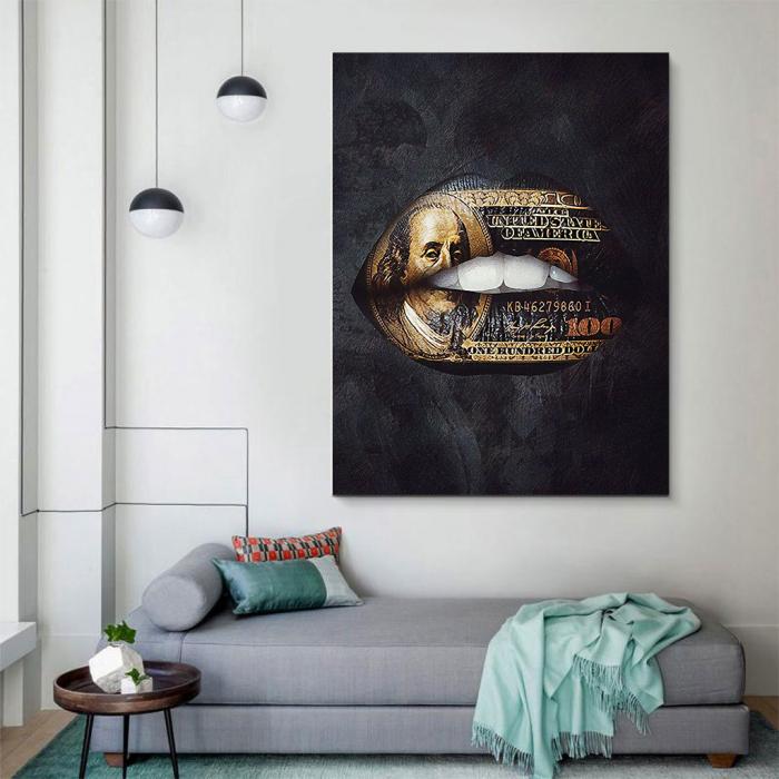 Tablou Canvas - Money talks 4