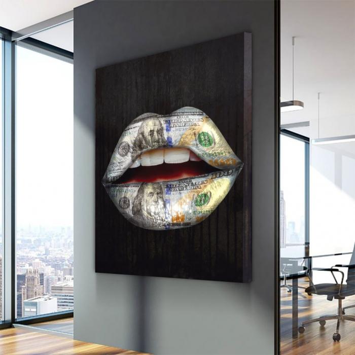 Tablou Canvas - Money wispears 2