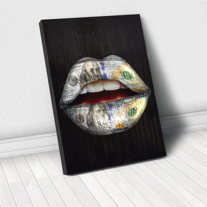 Tablou Canvas - Money wispears 0