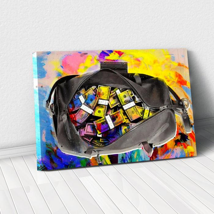 Tablou Canvas - Money bag 0