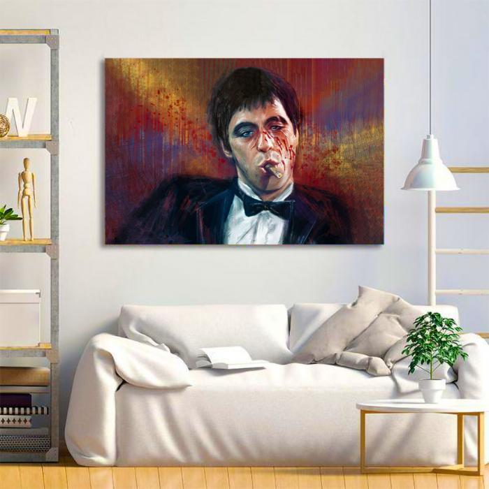 Tablou Canvas - Tony Montana 1