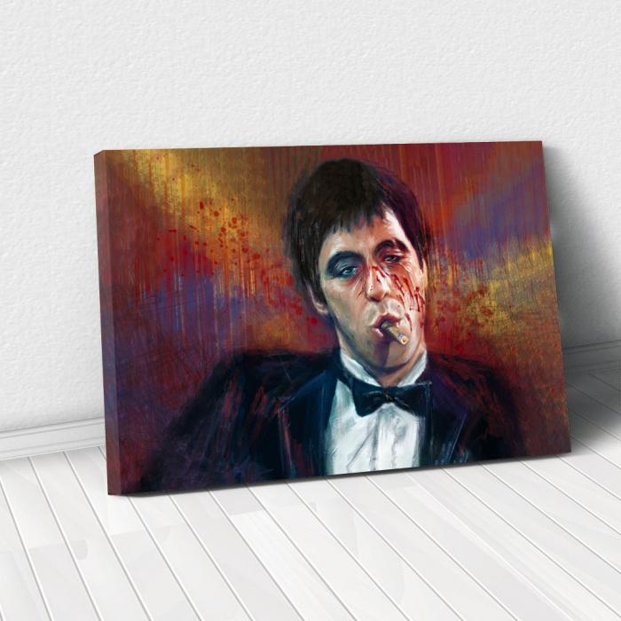 Tablou Canvas - Tony Montana 0