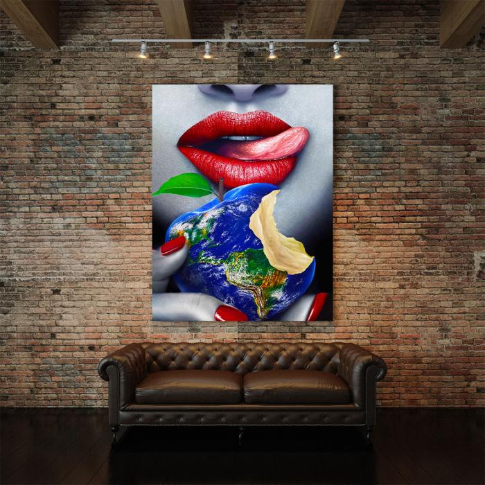 Tablou Canvas - Fructul interzis 4