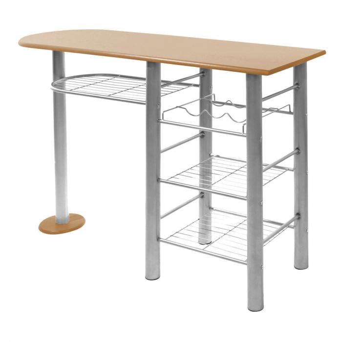 Set masă ovală fixă cu 2 scaune [1]