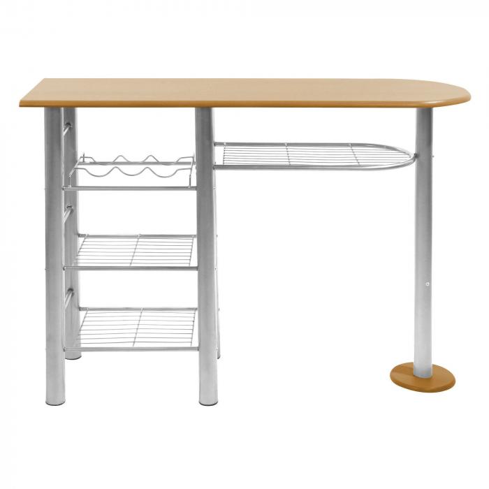 Set masă ovală fixă cu 2 scaune [2]