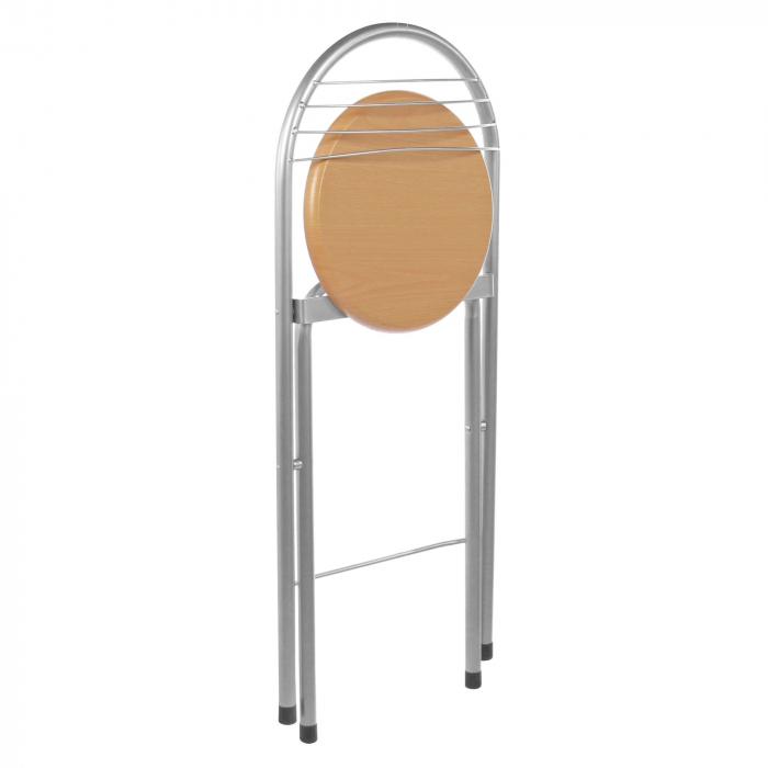 Set masă ovală fixă cu 2 scaune [4]