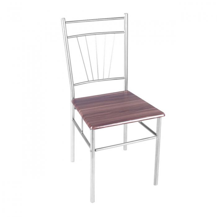 Set Melanie masă cu 4 scaune, maro [2]