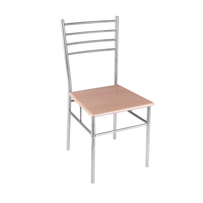 Set Melanie masă cu 4 scaune, natur 2