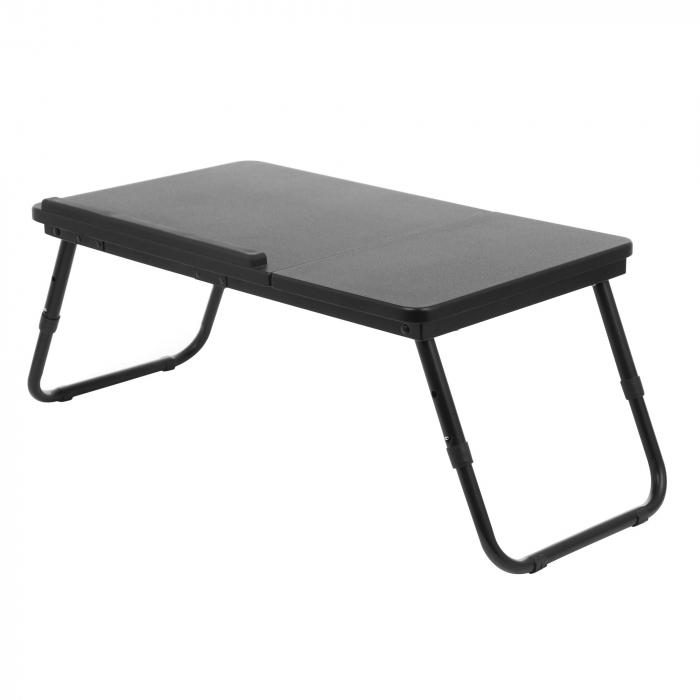 Masă pentru laptop neagră 1