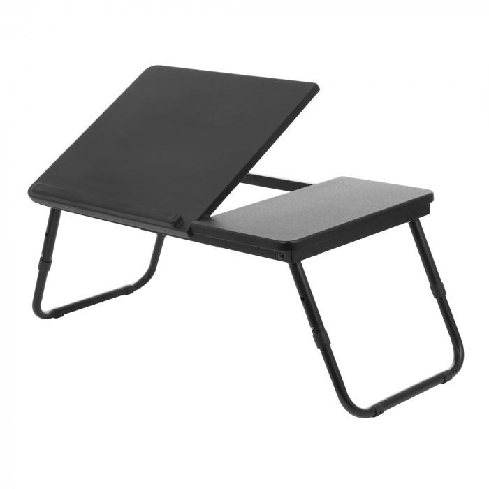 Masă pentru laptop neagră 0