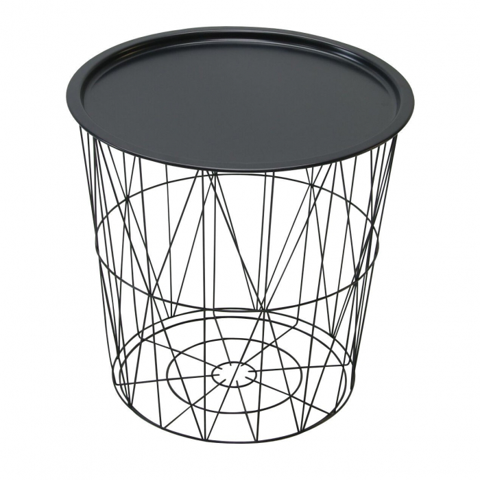 Măsuță de cafea din metal 45 x 45 cm 0