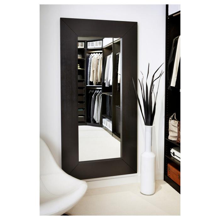 Oglindă, negru-maro94x190 cm [0]