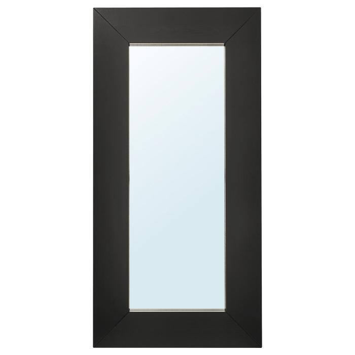 Oglindă, negru-maro94x190 cm [2]