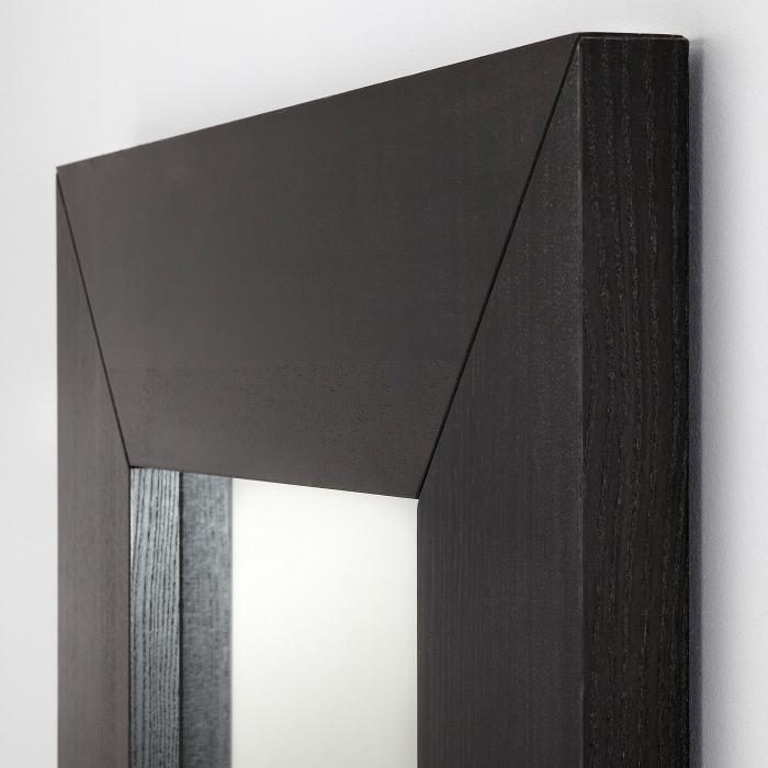 Oglindă, negru-maro94x190 cm [1]
