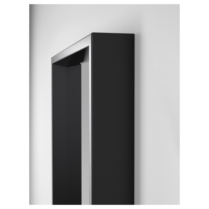 Oglinda tripla ,negru 130x150 2