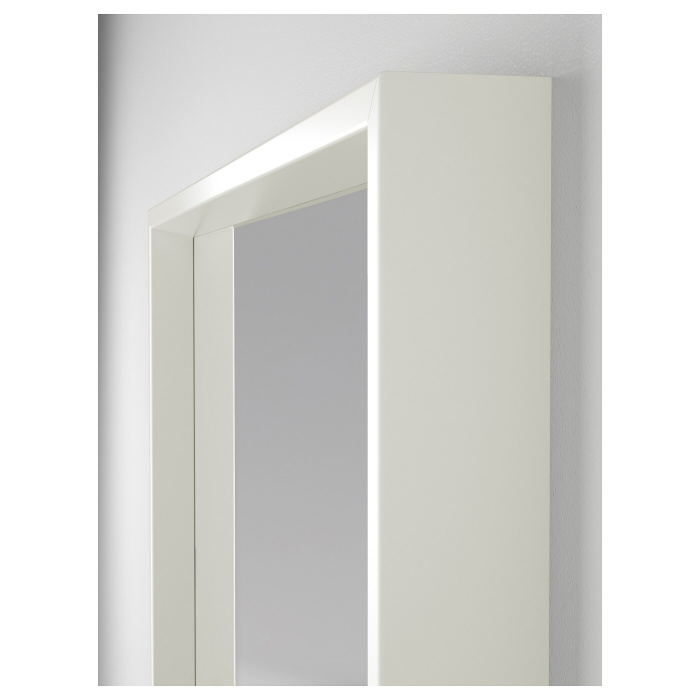 Oglindă, alba 65x65 cm 1